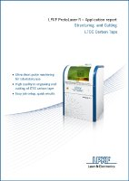 Kostenlos im LPKF Knowledge-Center: Das TechPaper LTCC Carbon Tape