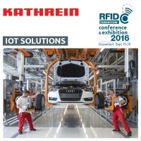 Kathrein IoT Solutions at RFID tomorrow 2016