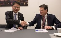 Christian Leicher, President and CEO of Rohde & Schwarz, and Adam Zeng, CEO of Unigroup Spreadtrum & RDA, signed yesterday, February 28, 2018, the memorandum of understanding at Mobile World Congress in Barcelona