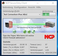 NCP Secure Entry Client für Windows mit neuen Funktionen